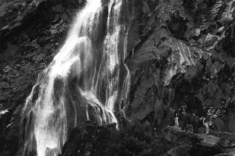 Powerscourt Waterfall, Enniskerry, Co. Wicklow, Ireland, October 2002
