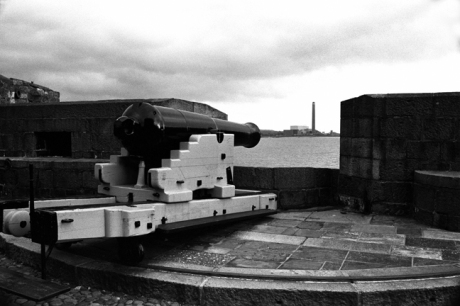 Carrickfergus Castle, Co. Antrim, Ireland, February 2000