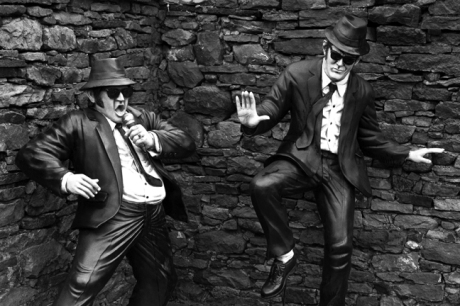 Blues Brothers, Drumskinny, Co. Fermanagh, Ireland, October 2000