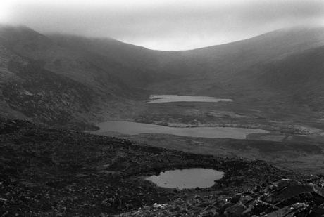 Conor Pass, Dingle Peninsula, Co. Kerry, Ireland, March 2002