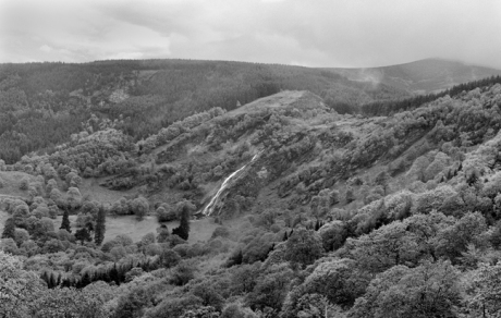 Powerscourt Waterfall, Enniskerry, Co. Wicklow, Ireland, May 2005