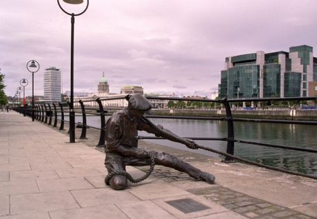 The Linesman, City Quay, Dublin, Ireland, August 2003