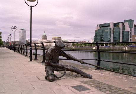 The Linesman, City Quay, Dublin, Ireland, August 2003