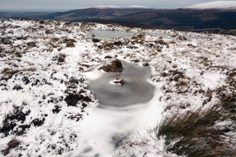 Turlough Hill, Co. Wicklow, Ireland, January 2012