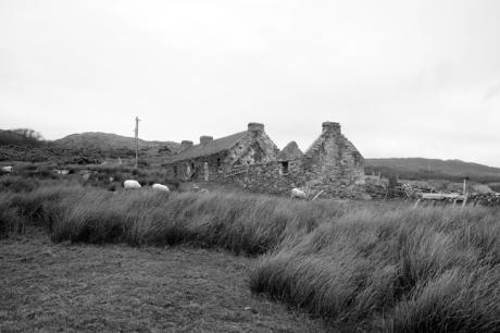 Kildavnet, Achill Island, Co. Mayo, Ireland, March 2009