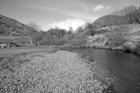 Lowerymore River, Barnesmore Gap, Co. Donegal, March 2010
