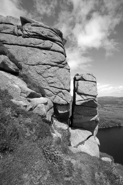 Eagle's Crag, Lough Bray, Co. Wicklow, Ireland, June 2010