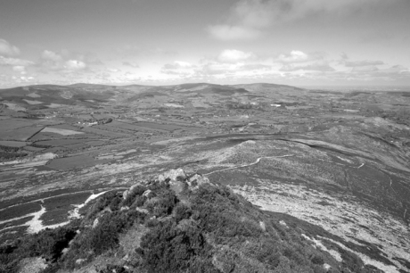 From the Sugar Loaf, Co. Wicklow, Ireland, June 2010