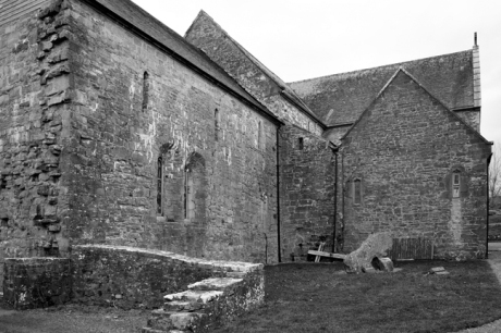 Ballintubber Abbey, Ballintubber, Co. Mayo, Ireland, September 2009