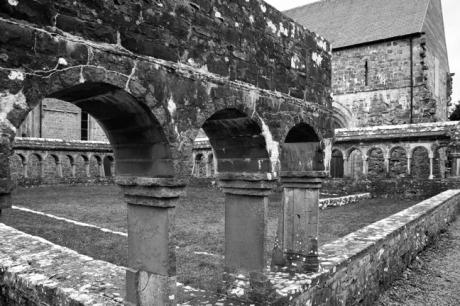 Ballintubber Abbey, Ballintubber, Co. Mayo, Ireland, March 2009