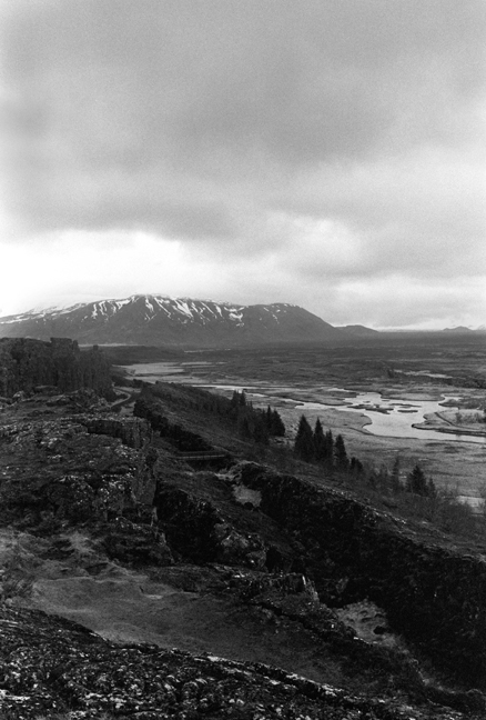 Þingvellir National Park, Iceland, April 2006