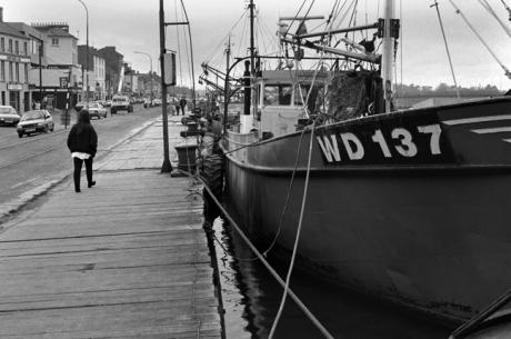Wexford Quay, Wexford, Ireland, March 1992
