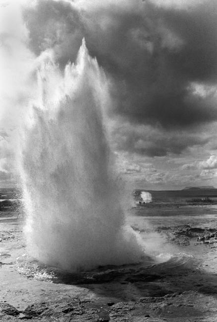 Strokkur Geyser, Haukadalur, Iceland, April 2006