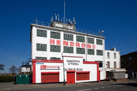 Hendrons Building, Broadstone, Dublin, Ireland, April 2010
