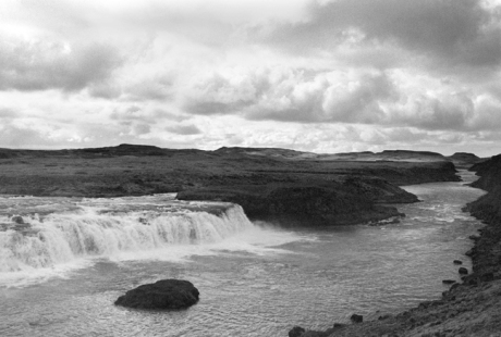 Vatnsleysufoss Fall & Tungufljót River, Iceland, April 2006