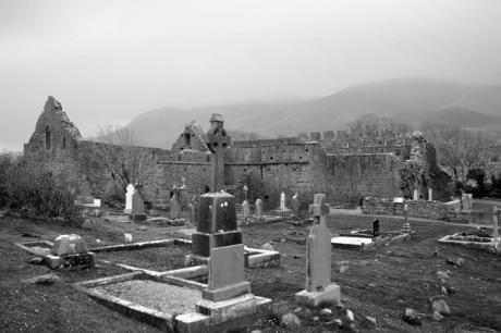 Murrisk Abbey, Murrisk, Co. Mayo, Ireland, March 20099