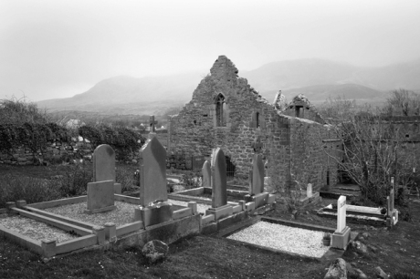 Murrisk Abbey, Murrisk, Co. Mayo, Ireland, March 2009
