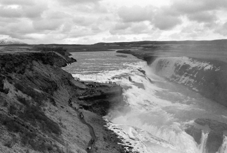 Gullfoss Falls & Hvítá River, Iceland, April 2006
