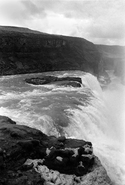 Gullfoss Falls & Hvítá River, Iceland, April 2006