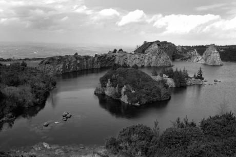 Carrigfoyle Quarry, Forth Mountain, Wexford, Ireland, July 2001
