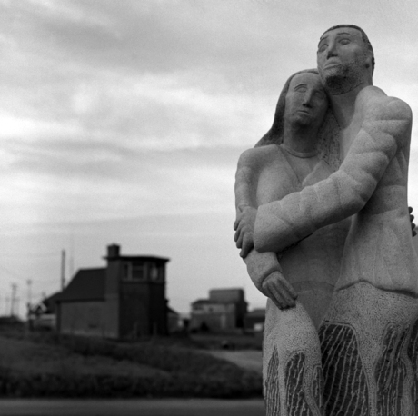 The Vigil Sculpture, Kilmore Quay, Co. Wexford, Ireland, January 2001