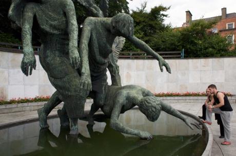 Garden of Remembrance, Parnell Street, Dublin, Ireland, August 2008