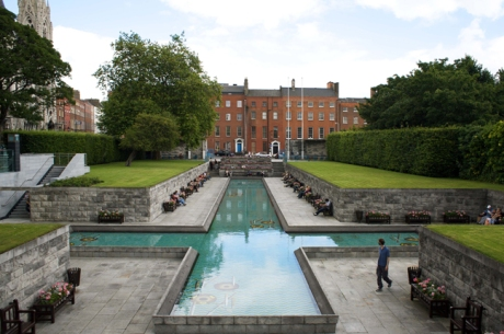 Garden of Remembrance, Parnell Street, Dublin, Ireland, August 2008