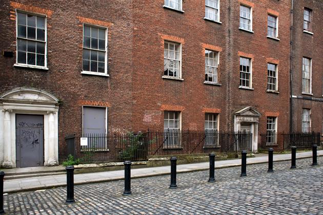 Henrietta Street, Dublin, Ireland, August 2008