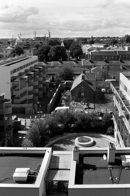 Smithfield, Dublin, Ireland, August 2008