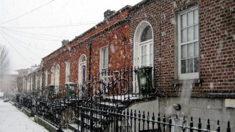 Synge Street, Dublin, Ireland, February 2009
