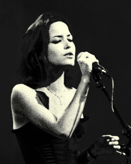 Andrea Corr, The Gathering, Millstreet, Cork, Ireland