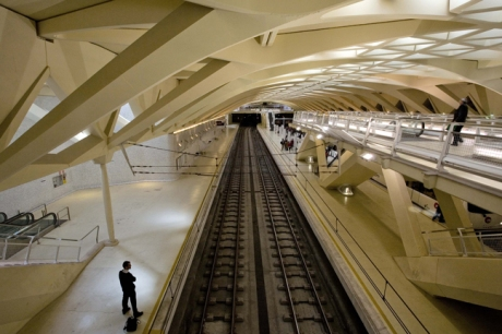 Alameda Metro Station, Valencia, Spain, October 2010