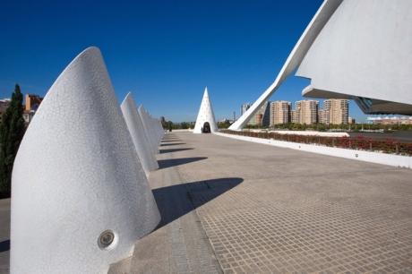 Palau De Les Arts & L'Hemisferic, Valencia, Spain, October 2010