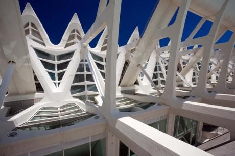 Ciudad De Las Artes Y Las Ciencias, Valencia, Spain, October 2010