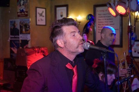 Jerry Fish, Arthur's Day, Brogan's Bar, Dame St., Dublin, Ireland