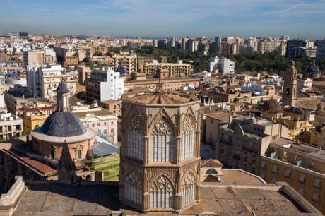from La Miguelete, Valencia Cathedral, Valencia, Spain, October 2010