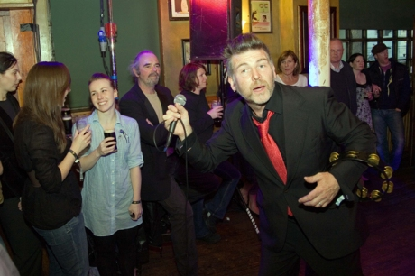 Jerry Fish, Arthur's Day, Brogan's Bar, Dame St., Dublin, Ireland