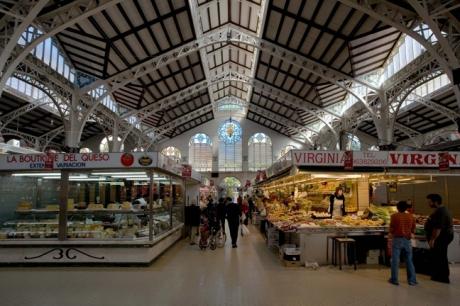 Mercado Central, Valencia, Spain, October 2010