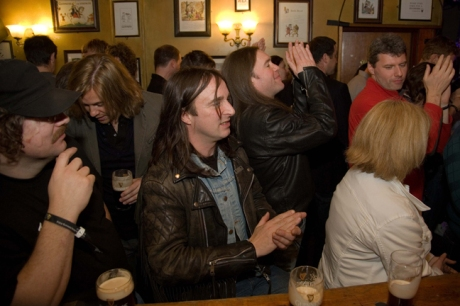 Arthur's Day, Brogan's Bar, Dame St., Dublin, Ireland
