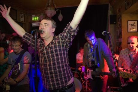 Undertones, Arthur's Day, Brogan's Bar, Dame St., Dublin, Ireland