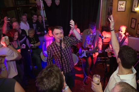 Undertones, Arthur's Day, Brogan's Bar, Dame St., Dublin, Ireland