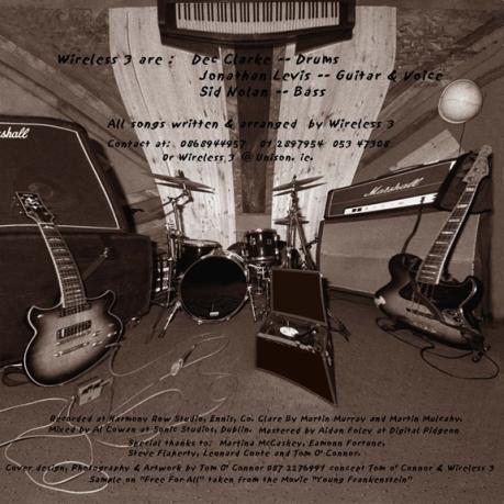 Wireless 3 - First Album Inside Leaf 2 - 2000