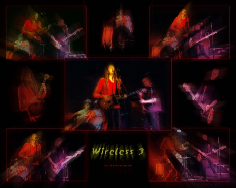 Wireless 3 - Poster, live at Eamon Dorans, Dublin - 1999
