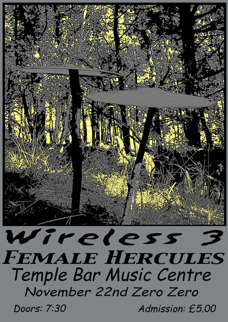 Wireless 3 - Flyer for TBMC Gig - 2000