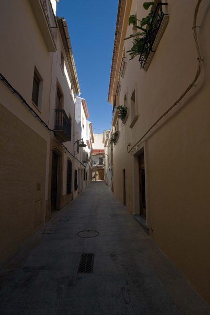 Old Quarter, Javea, Marina Alta, Spain, October 2010