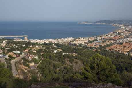 Javea from Cap de Sant Antoni, Marina Alta, Spain, June 2012
