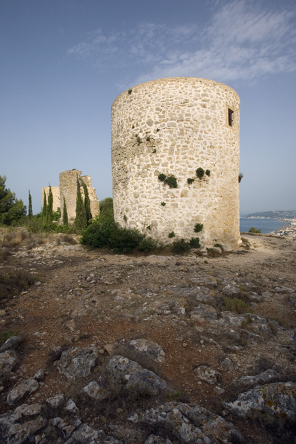 Molins del Cap de Sant Antoni, Javea, Marina Alta, Spain, June 2012