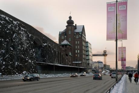 Stadsgårdsleden, Stockholm, Sweden, February 2011