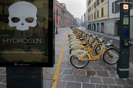 Via Festa del Perdono, Milan, Italy, December 2010
