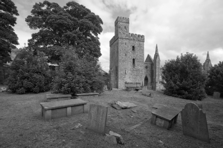 Selskar Abbey, Wexford, Co. Wexford, Ireland, August 2010